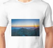 Sunrise Over Rila Mountain Unisex T-Shirt