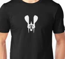 Renegade Merchant silhouette - with symbol (for dark background) Unisex T-Shirt