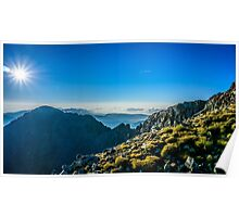View From Musala Peak Poster