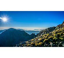 View From Musala Peak Photographic Print