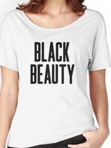 Black Beauty  Women's Relaxed Fit T-Shirt