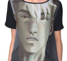 Voltron Shiro portrait Chiffon Top