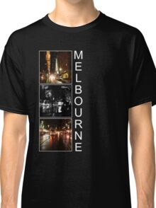 Melbourne shines at night Classic T-Shirt