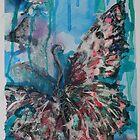 Paper Butterfly by Kobie Bosch