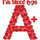 I'm blood type A positive by theimagezone