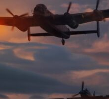 BBMF Lancaster and Hurricane Sticker