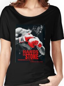Hands Of Stone Film Women's Relaxed Fit T-Shirt