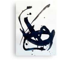 Ink Abstract Canvas Print