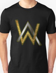 Alan Walker Gold Texture Unisex T-Shirt