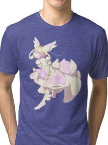 Mega Nanmeouie Magical Girl Tri-blend T-Shirt