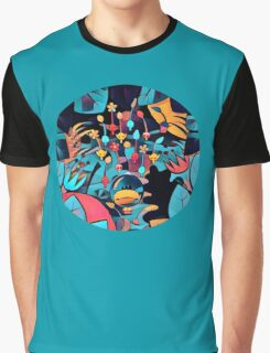 Pikmin Neon Jungle Graphic T-Shirt
