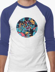 Pikmin Neon Jungle Men's Baseball ¾ T-Shirt