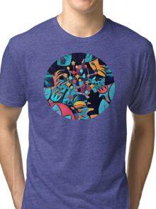 Pikmin Neon Jungle Tri-blend T-Shirt