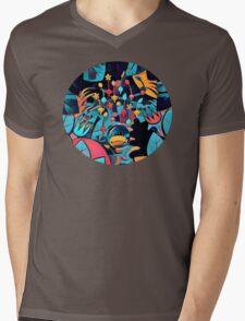 Pikmin Neon Jungle Mens V-Neck T-Shirt