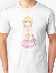 Mega Nanmeouie School Girl Unisex T-Shirt