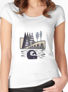 Master Of The Sea Women's Fitted Scoop T-Shirt