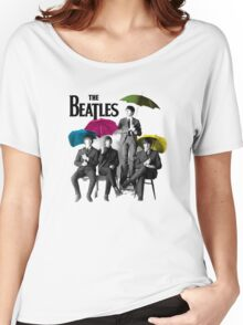 funny tshirt music, the Beatles Women's Relaxed Fit T-Shirt