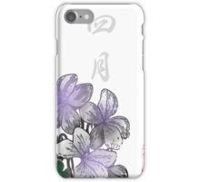 Inked Petals of a Year April iPhone Case/Skin