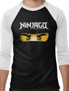 Ninjago Kai Zane Masters of Spin Jitzu Men's Baseball ¾ T-Shirt
