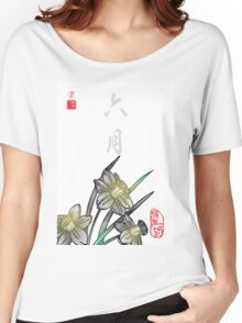 Inked Petals of a Year June Women's Relaxed Fit T-Shirt