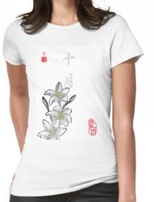 Inked Petals of a Year October Womens Fitted T-Shirt