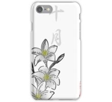 Inked Petals of a Year October iPhone Case/Skin