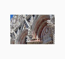 Detail of cathedral from Siena with stone decorations Unisex T-Shirt