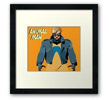 Animal Man Framed Print