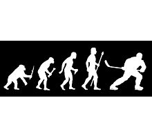 Ice Hockey Evolution Photographic Print