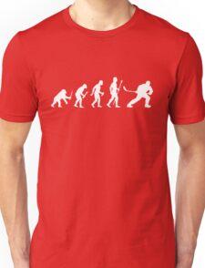 Ice Hockey Evolution Unisex T-Shirt
