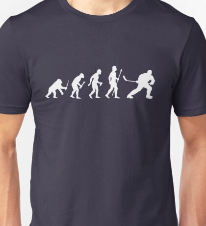 Ice Hockey Evolution Unisex T-Shirt