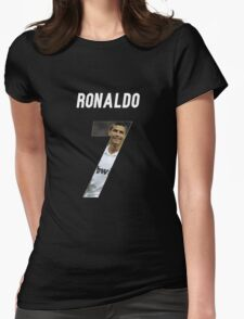 RON CR 7 Womens Fitted T-Shirt