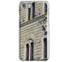 Building from Siena with decorative windows. iPhone Case/Skin