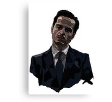 Moriarty Linework Canvas Print