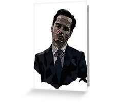 Moriarty Linework Greeting Card