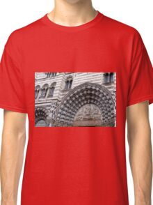 Detail of the cathedral from Genova. Classic T-Shirt