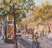 Blvd de Sebastopol, Paris by Terri Maddock