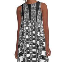 Distortion 2 A-Line Dress
