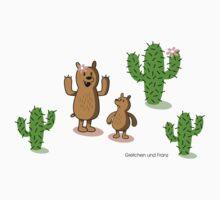 cactus bear Kids Tee