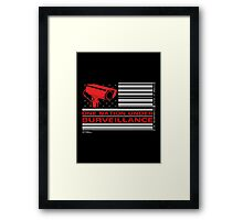 One Nation Under Surveillance Framed Print
