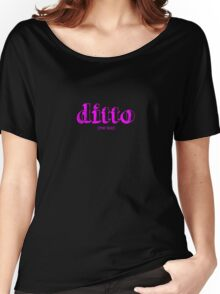 Ditto in Magenta Women's Relaxed Fit T-Shirt