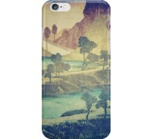 A Valley in the Evening iPhone Case/Skin