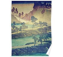 A Valley in the Evening Poster