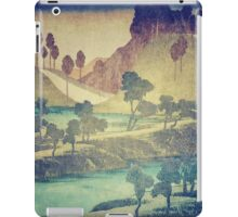 A Valley in the Evening iPad Case/Skin