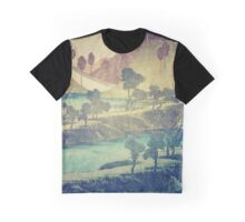A Valley in the Evening Graphic T-Shirt
