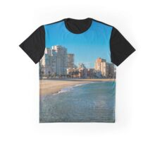The empty beach - panorama Graphic T-Shirt