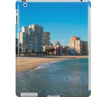 The empty beach - panorama iPad Case/Skin