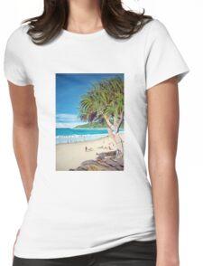 Noosa Pandanas Womens Fitted T-Shirt