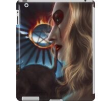 Witch with cat iPad Case/Skin