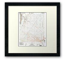 USGS TOPO Map Arizona AZ Green Valley 311574 2004 24000 Framed Print